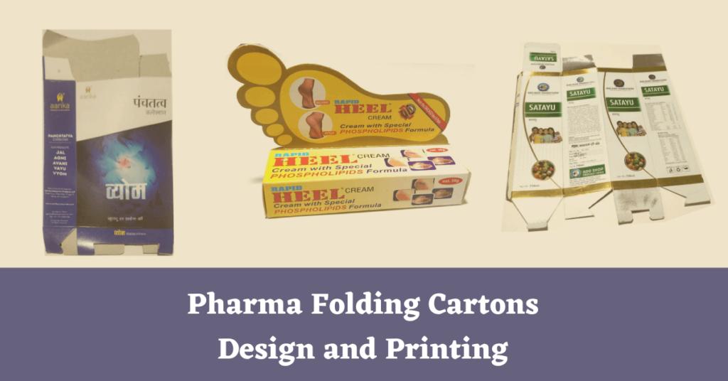 Pharma Folding Cartons Design and Printing
